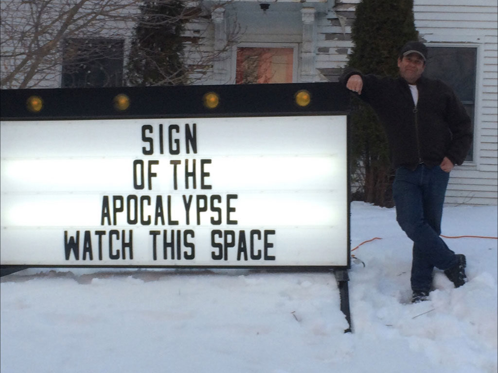 john getchell sign of the apocalypse pecha kucha biddeford
